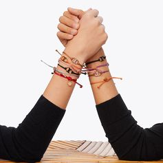 The Embrace Ambition bracelet is a chic way to give back.