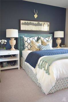 Bedroom Decor. All of the bedroom design ideas you'll ever need. Find your personal style that will create your ideal bedroom irrespective of what your financial budget, style or size of your room. Remodelling your bedroom on a shoestring budget feels like a dilemma, this doesn't really need to be. 85716925 Diy Bedroom Decor Ideas