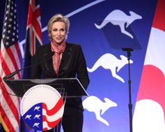 Jane Lynch. The American Australian Association Benefit Dinner.