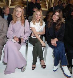 Natalia Vodianova, Kylie Minogue and Charlotte Casiraghi attend the Summer 2018 Stella McCartney show in Paris.