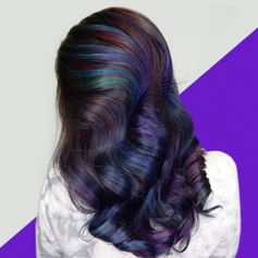 Here's How to Get Rainbow Hair if You're a Brunette