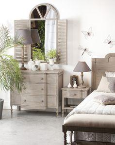 Commode en manguier 3 tiroirs Constance Jardin d'Ulysse