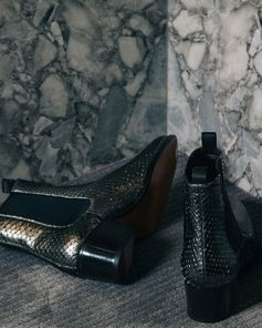 Stand out this season with the Metallic Python Wilde Ankle Boots. #TOMFORD #TFGIFTS