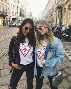 """EMELIE (@emitaz) on Instagram: """"Two amazing days with @guess #LoveGUESS #guessfestival #guess ❤ With my babe @xeniaoverdose 