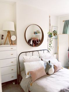 Minimal, Scandi Style bedroom | click for links! | anniedornansmith.blog