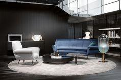 Albert sofa and armchair, Gigi Radice design / Minotti Historic Archive. #minotti70 #armchair #sofa #2018collection #heritage