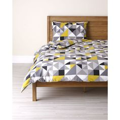 Wilko Duvet Set Geo Print Single