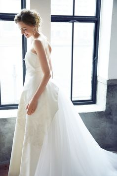 [DRESS:CAROLINA HERRERA Deborah] weddingdress weddingday white princess