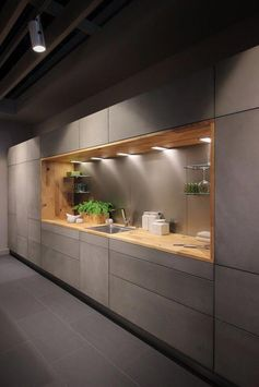42 Amazing Modern Kitchen Cabinet Design Ideas #kitchendecoratingdesigns