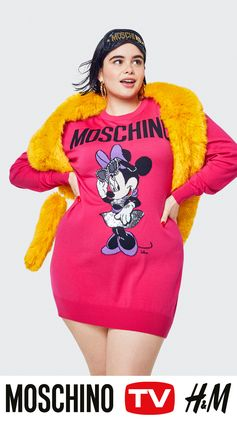 A selection of looks from MOSCHINO [tv] H&M! Get ready for a collection full of vibrant colours, beloved Disney characters and lots of details in gold. Available in selected H&M stores and at hm.com 8 Nov 2018. #HMOSCHINO