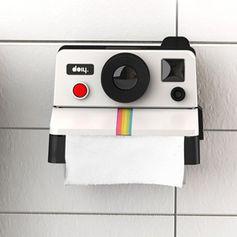 Distributeur papier toilette style polaroïd plastique Polaroll