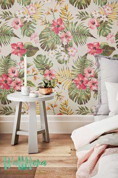 Plumeria Wallpaper fond décran dHibiscus Hawaiian papier