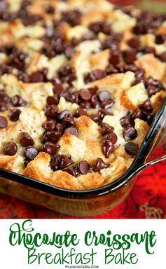Chocolate Croissant Breakfast Bake - Plain Chicken