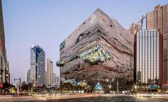 This New South Korean Department Store Has A Gem-Like Facade