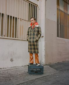 Bally Coat x Keir Gilchrist