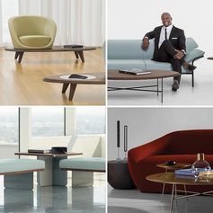 Actor Terry Crews has designed a collection of modern lounge furniture with Bernhardt Design.