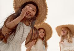 New Collection! The sun shines over our New Summer Collection! #Bonpoint #GirlsDress