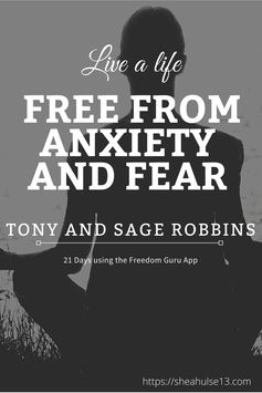 21 Days to Freedom from Anxiety and Fear