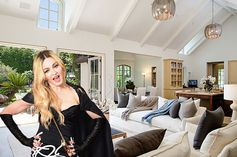 Inside Madonna's old Beverly Hills mansion, now being flipped for $28 million.