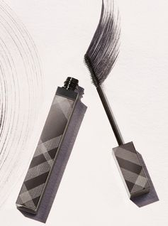Lashes are extended and fanned out with our eye-opening mascara, Burberry Cat Lashes