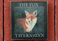 Medium Antique Looking The Fox Tavern Inn Pub | Etsy