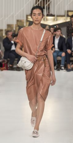 On the runway of Tod's SS/19 Italian Attitude fashion show. Discover more at www.tods.com #tods #mfw #ss19