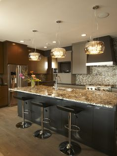 Contemporary Kitchen Granite Countertop Design, Pictures, Remodel, Decor and Ideas - page 3