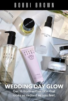 Unveil flawless skin on your big day with Bobbi Brown skincare. Shop our top picks for your big day.