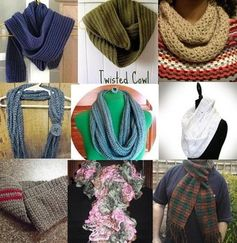 Free crochet scarf patterns make easy crocheted gifts for all