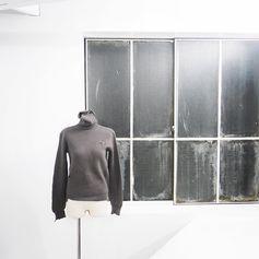 Maison Martin Margiela, Destroy high-neck knit