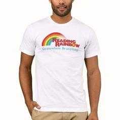 Reading Rainbow. Go Anywhere. Be Anything T-Shirt