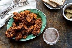 Nashville Hot Chicken recipe made easy with JM Thomason Hot Chicken seasoning.