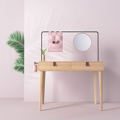 Essential Dressing Table by Linda Martins #FurnitureDesign #DressingTable