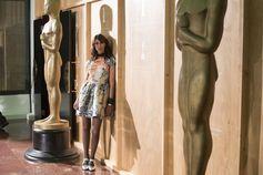 Olivia Magnani @ Fendi Studios.