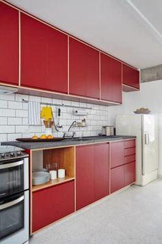 Cocinas de estilo moderno por INÁ Arquitetura
