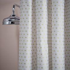 Rideau de douche #atmosphérique #zodio #douche #bain #décoration