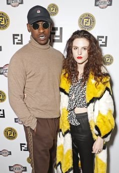Skepta and Daisy Maybe at the FF Reloaded Experience in London.