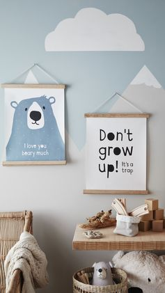 H&M HOME | Upgrade from teddy bears to wild bears with our fun, nature-themed kids' room decor. Shop bear bedsheets, cushions, storage and much more.