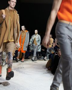 Finale from the Louis Vuitton Fall-Winter 2018 Fashion Show by Kim Jones. See all the looks now at louisvuitton.com.