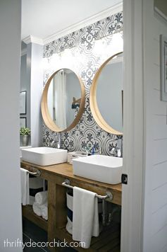 The most AMAZING bathroom renovation ever_check this out!
