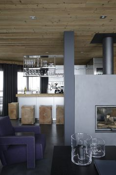 Chalet Courchevel -   Un chalet contemporain