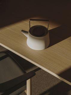 Bull table by Naoto Fukasawa. Photo credits: Salva Lopez #naotofukasawa #bulltable #bellechair #bebitalia #furnituredesign