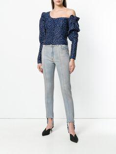 Magda Butrym Benson stirrup skinny jeans