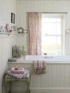 sweet & pretty #bathroomcurtains #naturalcurtaincompany