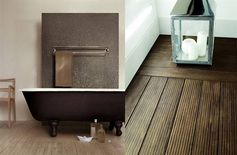 Real wood? No! Tiles! With the look of wood. By Surface Tiles.