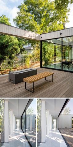 This Bridge House Spans Over A Small Stream In Los Angeles