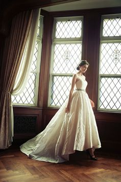 [DRESS:temperly for NOVARESE Long valentina]  weddingdress weddingday white princess