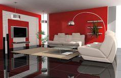 20 idées pour combiner blanc et rouge dans le salon! Laissez-nous vous inspirer…