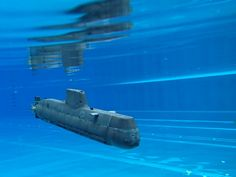 Fully operational Submarine type 214 by Oto Gerža #practical #toysandgames #prusai3