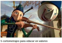 5 cortometrajes para educar en valores http://www.educaciontrespuntocero.com/recursos/5-cortometrajes-educar-en-valores/16455.html